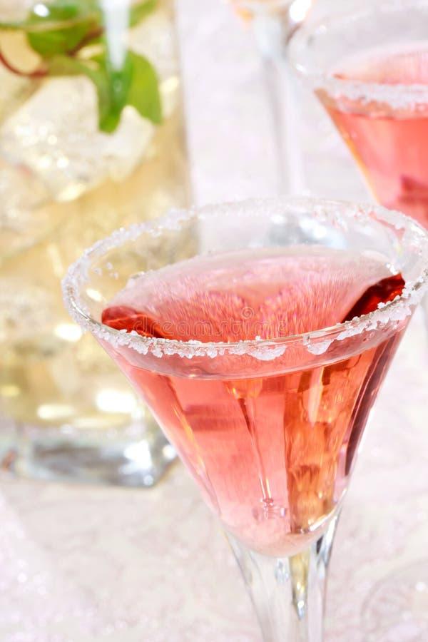 Κόκκινο Margaritas στοκ φωτογραφίες