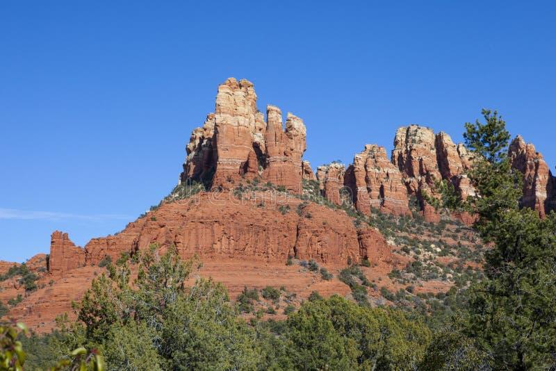 κόκκινο sedona βράχων στοκ εικόνα