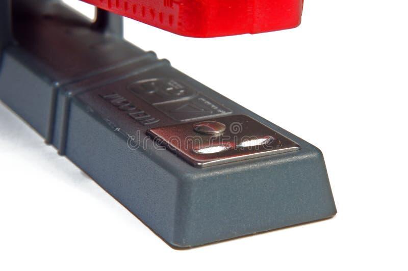 κόκκινο stapler στοκ εικόνες με δικαίωμα ελεύθερης χρήσης