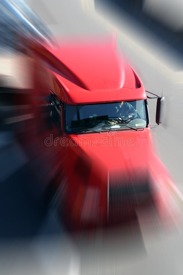 κόκκινο truck στοκ φωτογραφίες με δικαίωμα ελεύθερης χρήσης