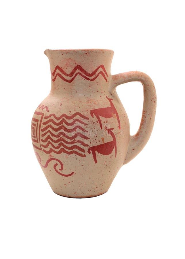 Κόκκινο vase στοκ εικόνες
