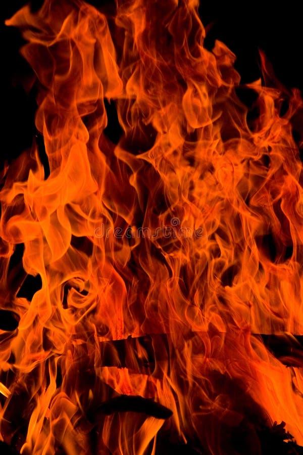 κόλαση πυρκαγιάς στοκ εικόνα