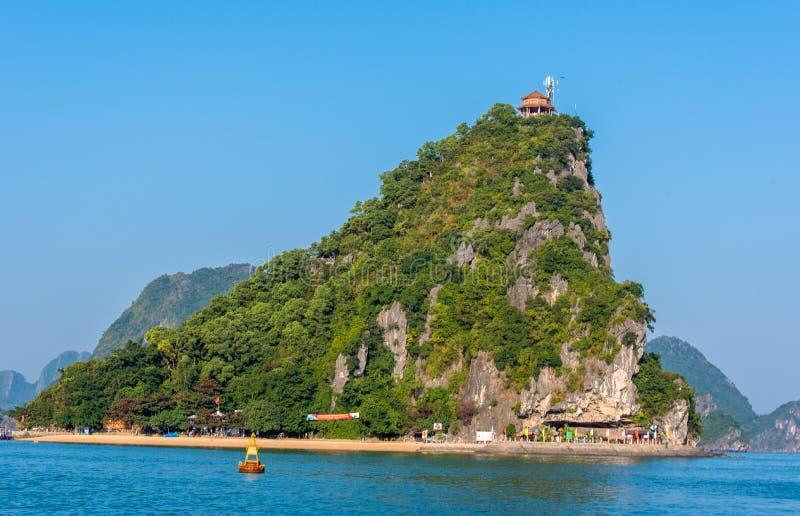 Κόλπος Βιετνάμ Halong στοκ εικόνες με δικαίωμα ελεύθερης χρήσης