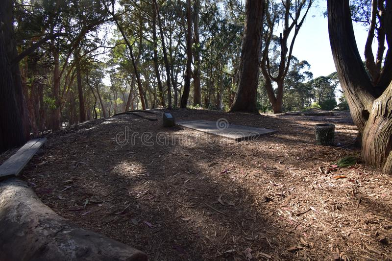 Κόλπος δίσκων στο χρυσό πάρκο πυλών, 2 στοκ φωτογραφίες