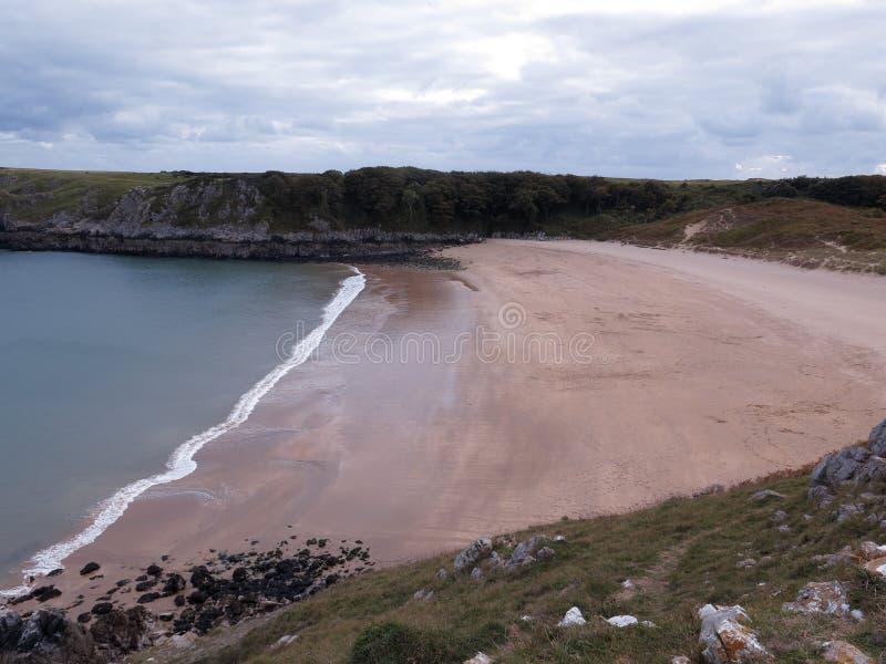 Κόλπος Barafundle, Pembrokeshire στοκ εικόνα με δικαίωμα ελεύθερης χρήσης