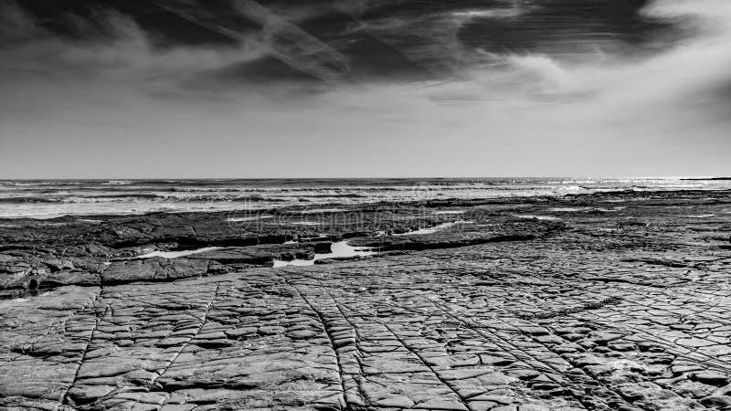 Κόλπος Dorset Kimmeridge στοκ φωτογραφία