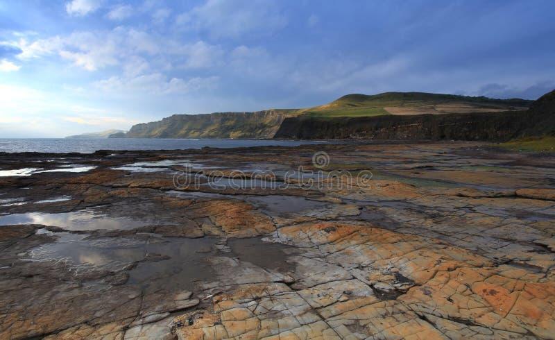 Κόλπος Dorset Kimmeridge στοκ φωτογραφίες