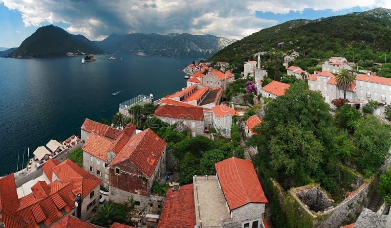Κόλπος Kotor, Μαυροβούνιο στοκ φωτογραφία