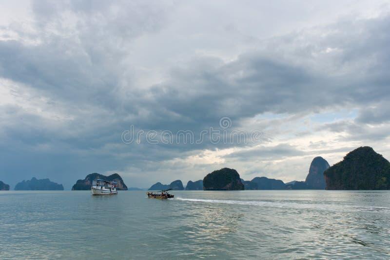Κόλπος Nga Phang στοκ εικόνες με δικαίωμα ελεύθερης χρήσης