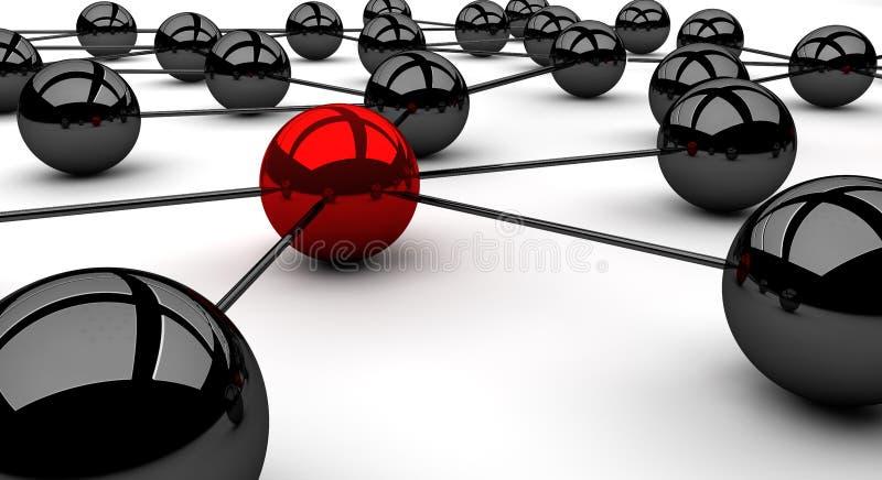 Κόμβος στόχων διανυσματική απεικόνιση