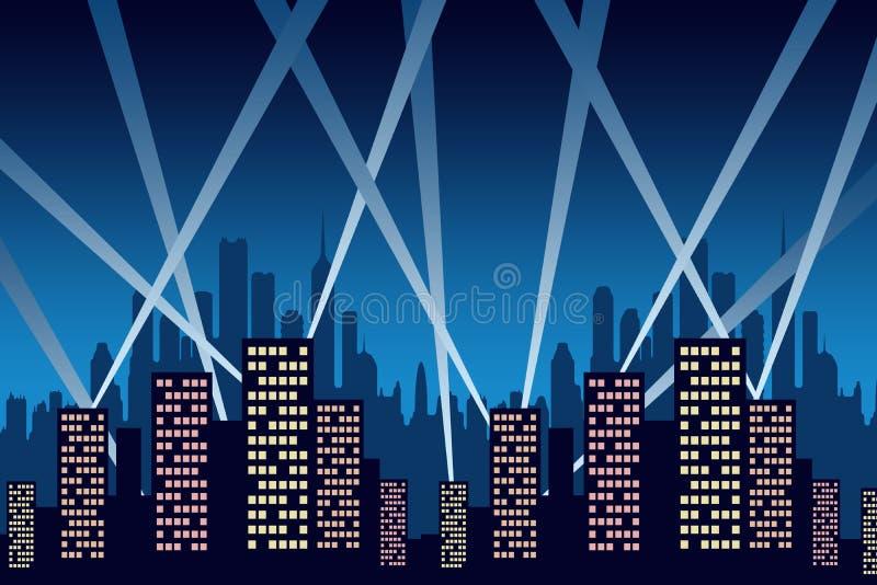 Κόμμα πόλεων απεικόνιση αποθεμάτων