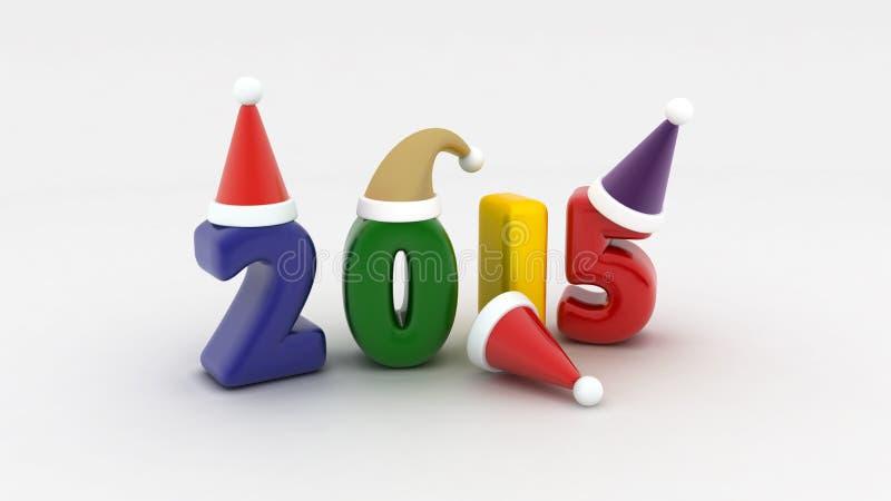 2015 κόμμα διανυσματική απεικόνιση