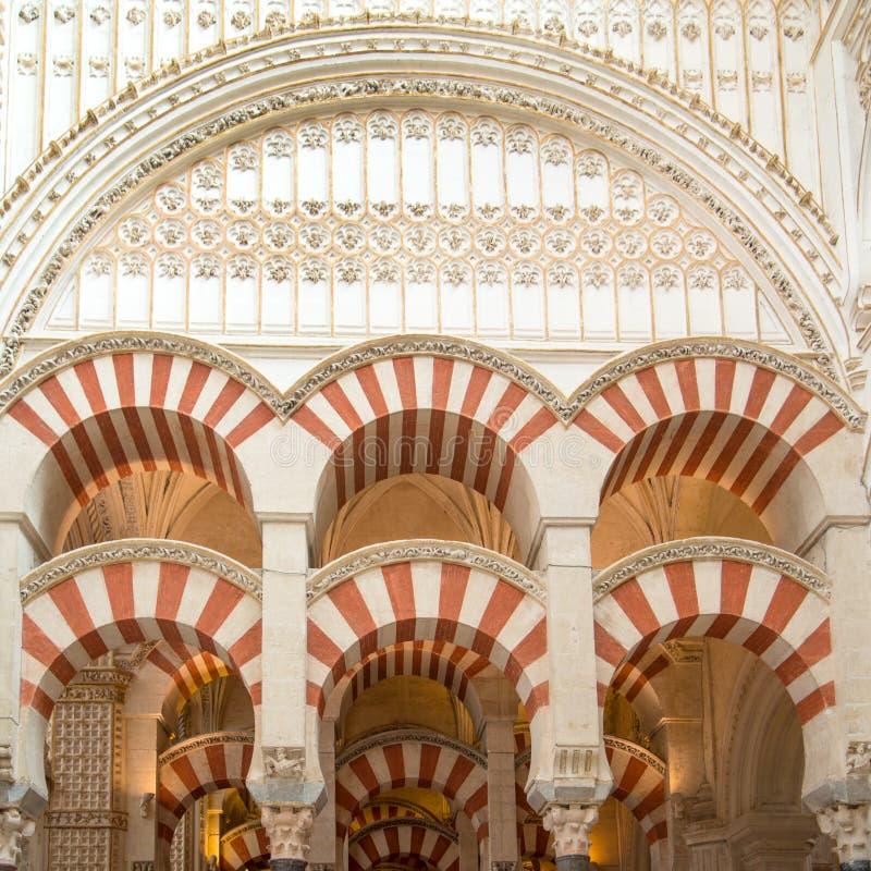 Κόρδοβα mezquita στοκ εικόνες