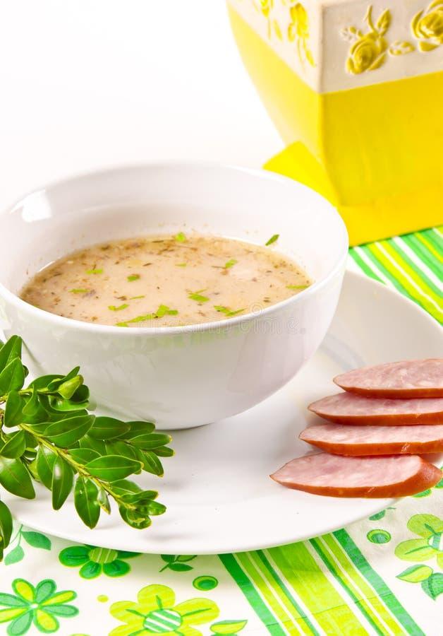 Κόσμιη πολωνική σούπα στοκ φωτογραφία με δικαίωμα ελεύθερης χρήσης