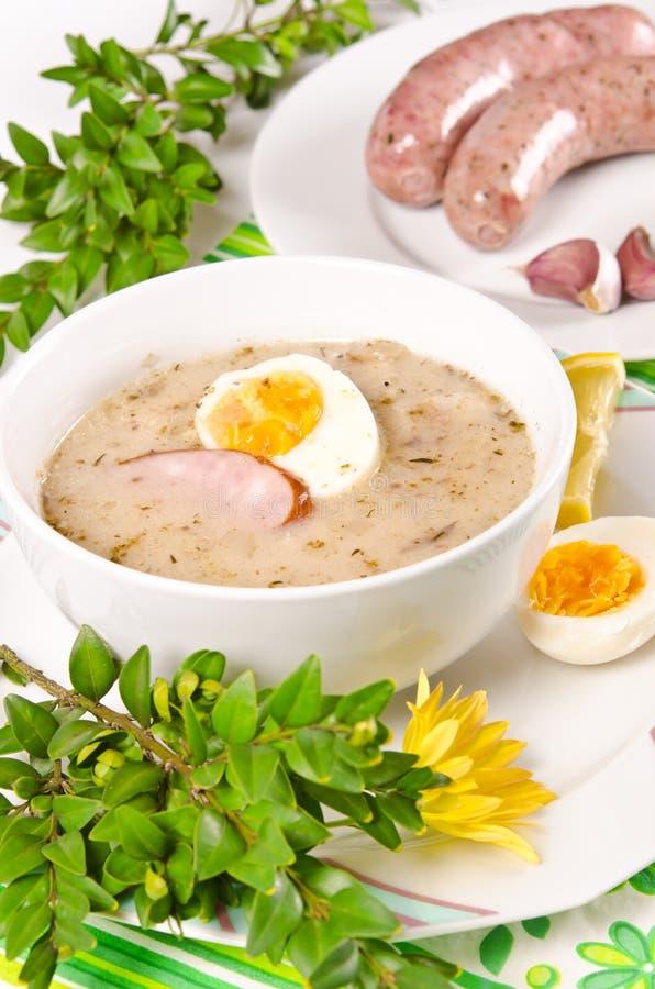 Κόσμιη πολωνική σούπα στοκ φωτογραφία