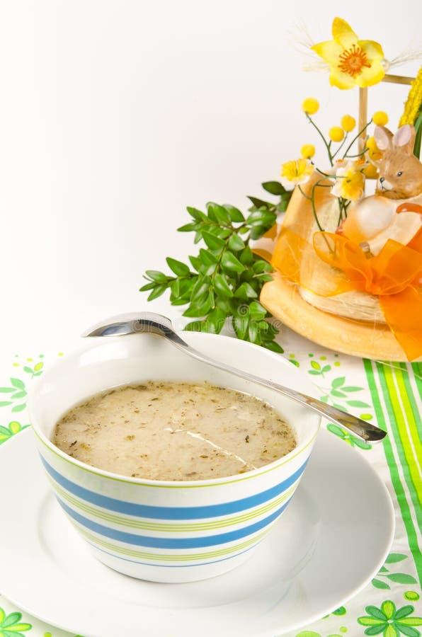 κόσμιη σούπα στιλβωτικής &om στοκ εικόνες