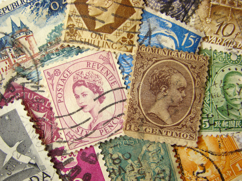 κόσμος γραμματοσήμων στοκ εικόνα με δικαίωμα ελεύθερης χρήσης