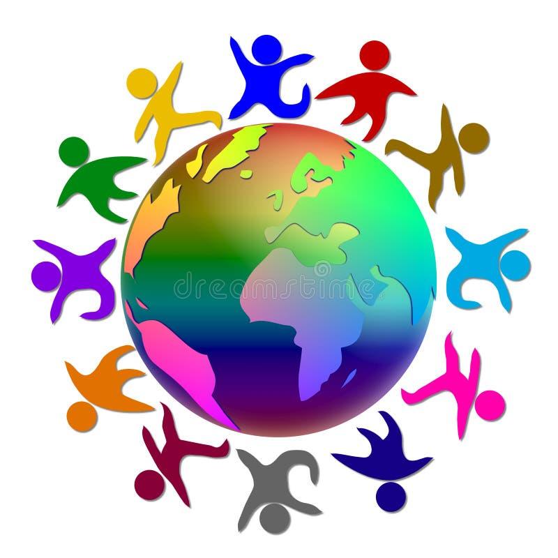 κόσμος ειρήνης απεικόνισ&et απεικόνιση αποθεμάτων