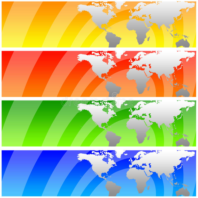 κόσμος εμβλημάτων ελεύθερη απεικόνιση δικαιώματος