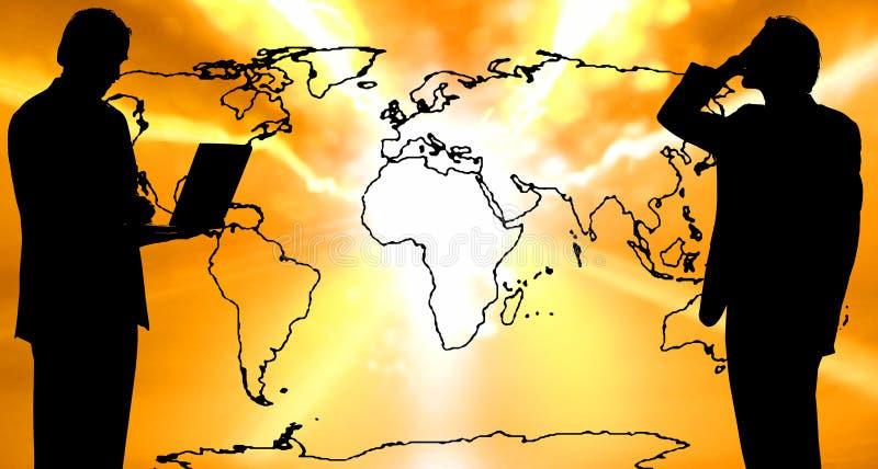 κόσμος επικοινωνίας ελεύθερη απεικόνιση δικαιώματος