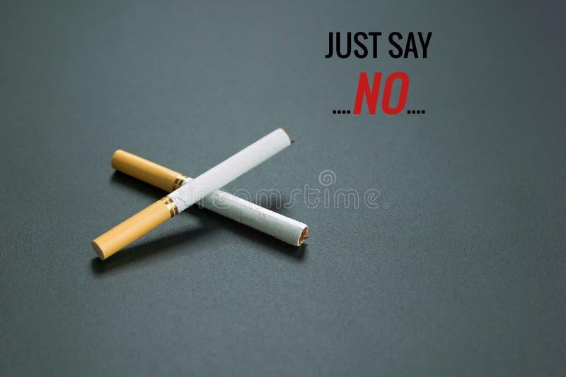 Κόσμος καμία ημέρα καπνών 31 Μαΐου ημέρα απαγόρευσης του καπνίσματος Δηλητήριο του τσιγάρου στοκ εικόνες με δικαίωμα ελεύθερης χρήσης