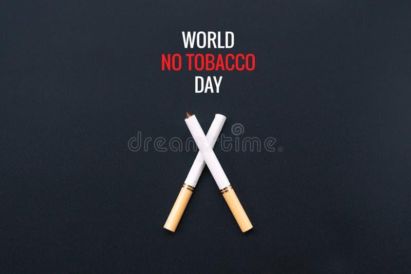 Κόσμος καμία ημέρα καπνών 31 Μαΐου ημέρα απαγόρευσης του καπνίσματος Δηλητήριο του cigaretWorld καμία ημέρα καπνών 31 Μαΐου ημέρα στοκ εικόνες με δικαίωμα ελεύθερης χρήσης