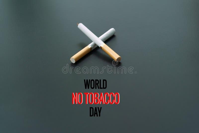 Κόσμος καμία ημέρα καπνών 31 Μαΐου ημέρα απαγόρευσης του καπνίσματος Δηλητήριο του cigaretWorld καμία ημέρα καπνών 31 Μαΐου ημέρα στοκ φωτογραφίες