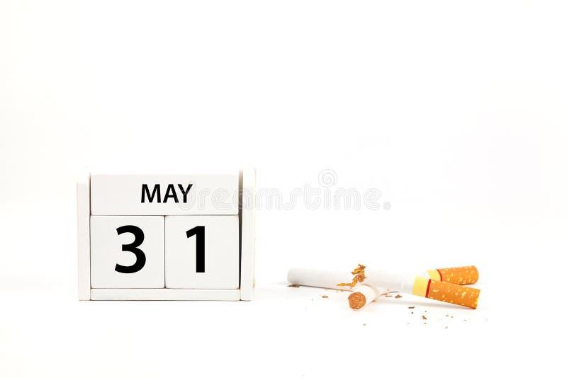 Κόσμος κανένας καπνός στοκ φωτογραφίες
