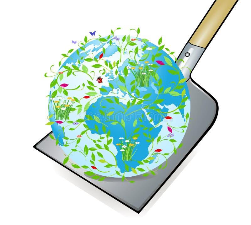 κόσμος λεπίδων απεικόνιση αποθεμάτων