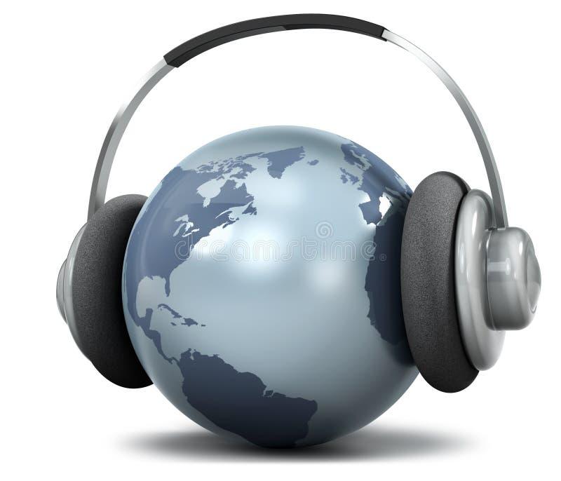 κόσμος μουσικής ελεύθερη απεικόνιση δικαιώματος