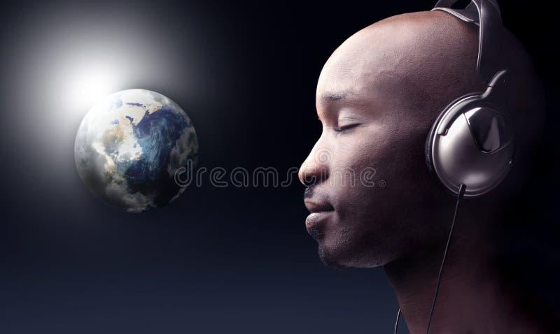 κόσμος μουσικής στοκ φωτογραφίες