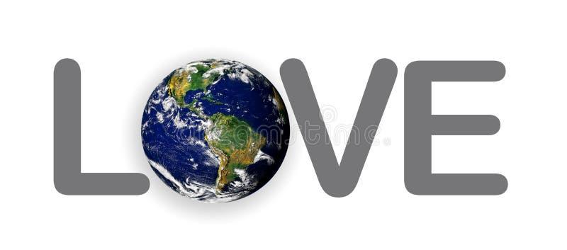 κόσμος πλανητών γήινης αγάπ&et ελεύθερη απεικόνιση δικαιώματος