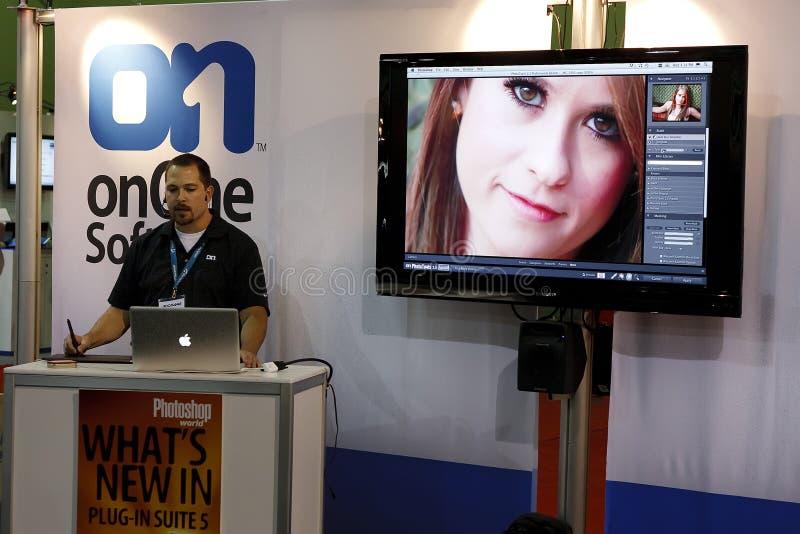 κόσμος προμηθευτών EXPO δια&sigm στοκ εικόνα