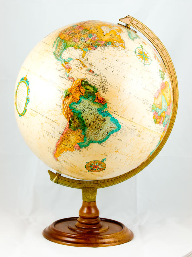 κόσμος σφαιρών στοκ εικόνα με δικαίωμα ελεύθερης χρήσης