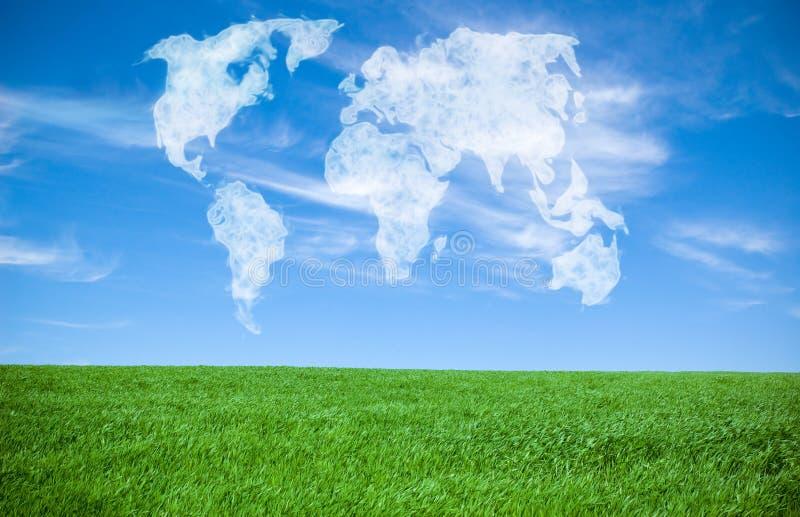 κόσμος σύννεφων στοκ φωτογραφία με δικαίωμα ελεύθερης χρήσης