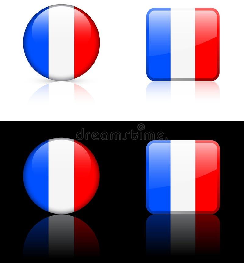 κόσμος της Γαλλίας σημα&iot απεικόνιση αποθεμάτων