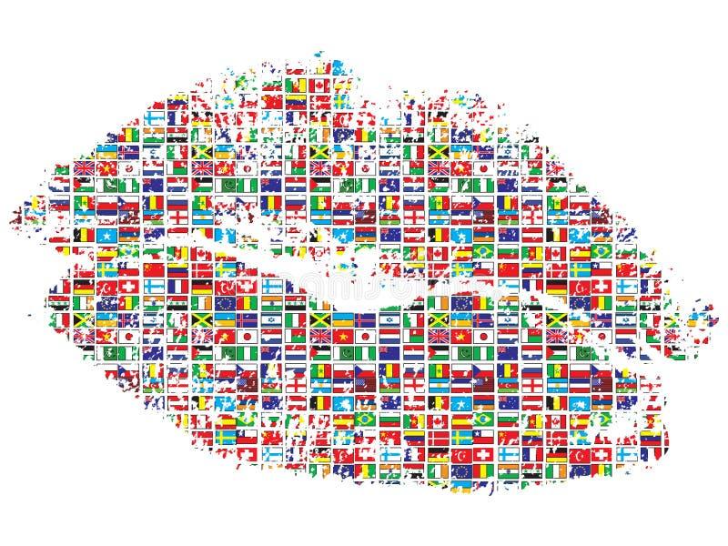 κόσμος φιλιών ελεύθερη απεικόνιση δικαιώματος