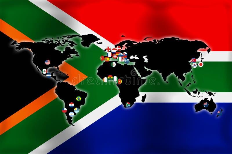 κόσμος φλυτζανιών ελεύθερη απεικόνιση δικαιώματος