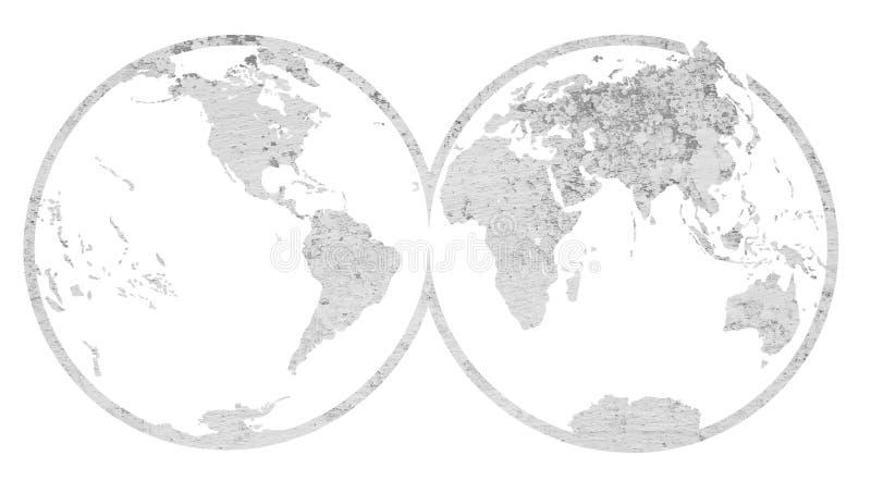 κόσμος χαρτών στοκ φωτογραφία με δικαίωμα ελεύθερης χρήσης