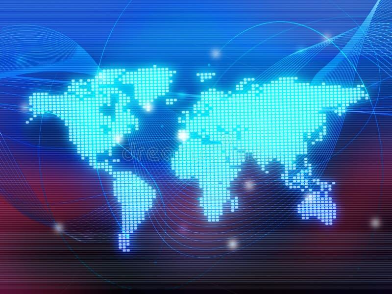 κόσμος χαρτών απεικόνιση αποθεμάτων