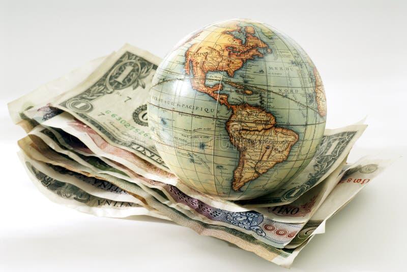 κόσμος χρηματοδότησης στοκ εικόνες