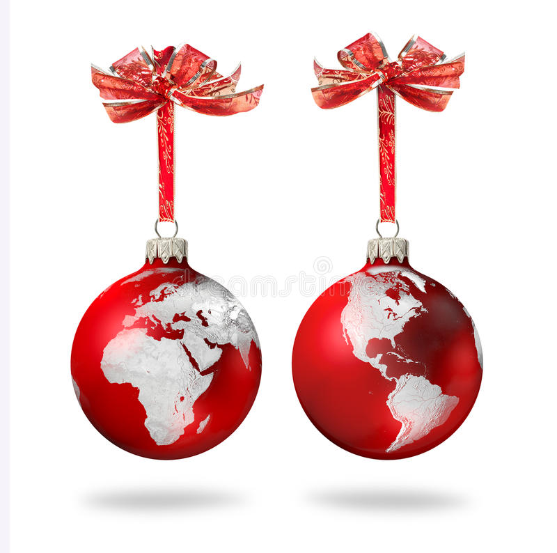 κόσμος Χριστουγέννων στοκ φωτογραφίες με δικαίωμα ελεύθερης χρήσης