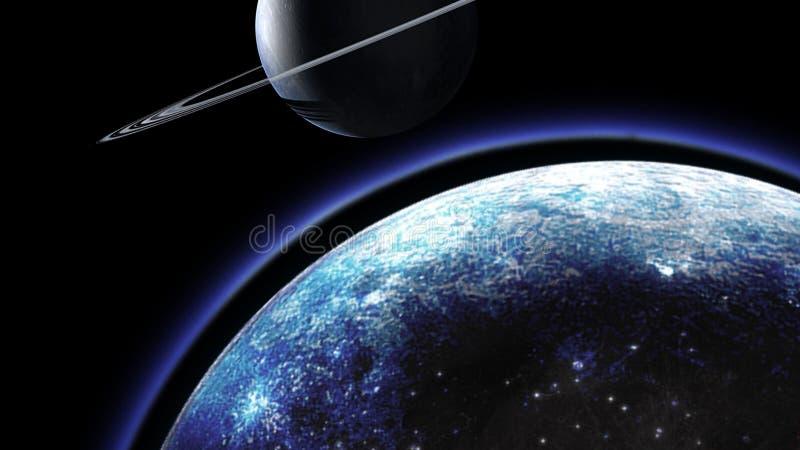 Κόσμος όλα το υπάρχοντα θέμα και το διάστημα που θεωρούνται συνολικά κόσμος απεικόνιση αποθεμάτων