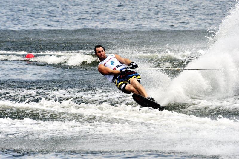 κόσμος ύδατος σκι ατόμων φ στοκ φωτογραφία