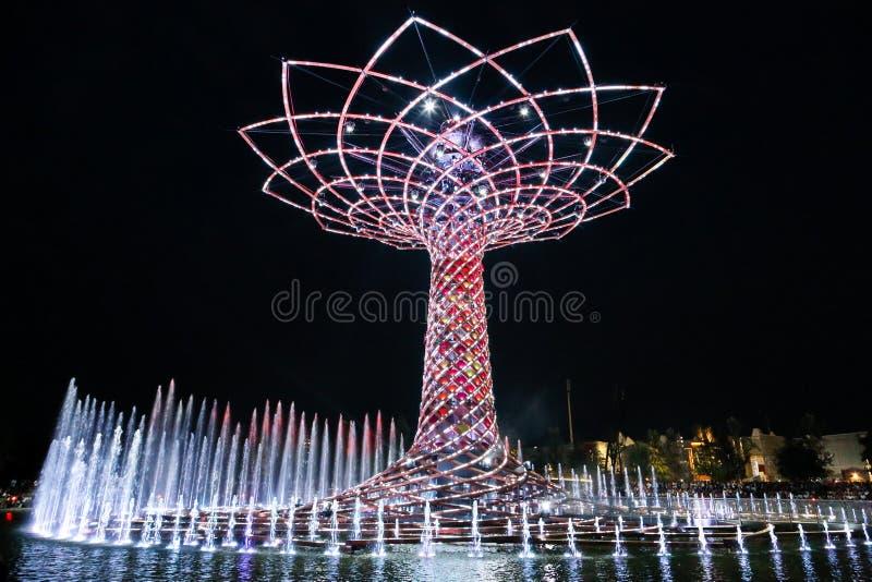 Κόσμος EXPO Μιλάνο στοκ εικόνα με δικαίωμα ελεύθερης χρήσης
