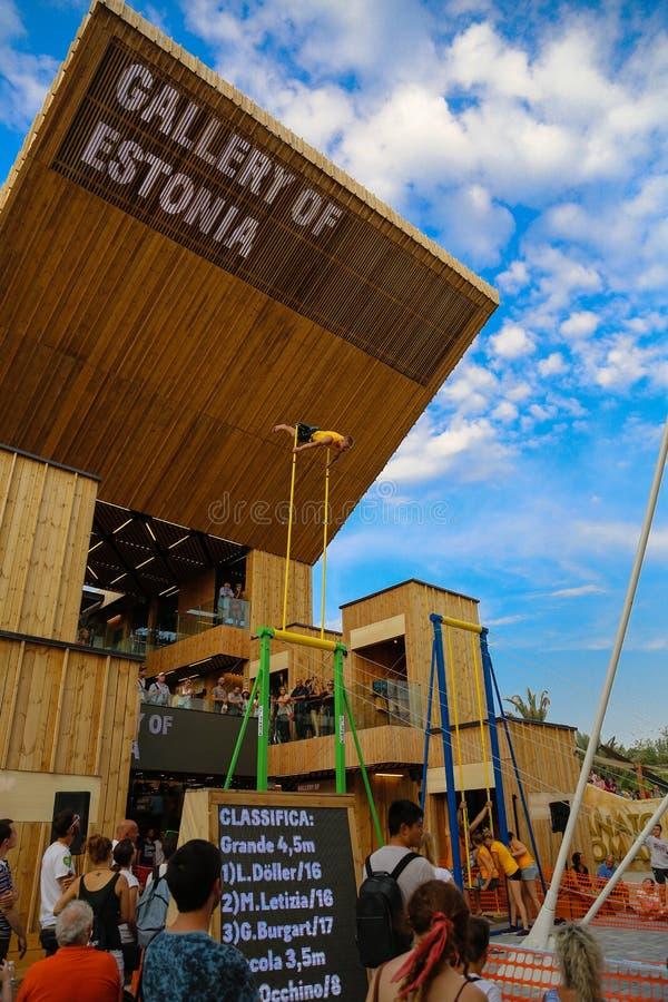 Κόσμος EXPO Μιλάνο στοκ εικόνες με δικαίωμα ελεύθερης χρήσης