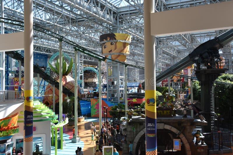 Κόσμος Nickelodeon στο Μπλούμινγκτον, Μινεσότα στοκ εικόνα με δικαίωμα ελεύθερης χρήσης