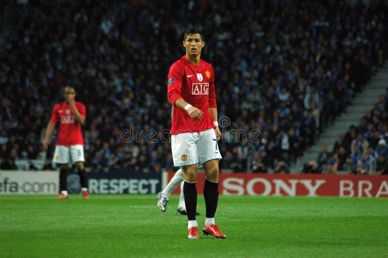 κόσμος ronaldo φορέων του Cristiano FIFA του 2009 καλύτερος στοκ εικόνα με δικαίωμα ελεύθερης χρήσης