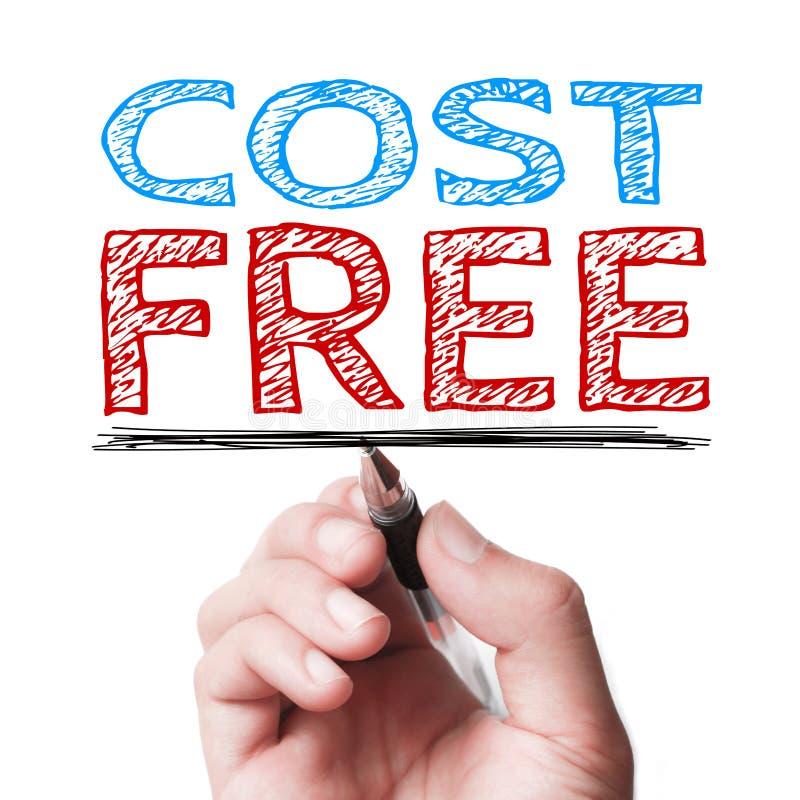 Κόστος ελεύθερο στοκ φωτογραφία