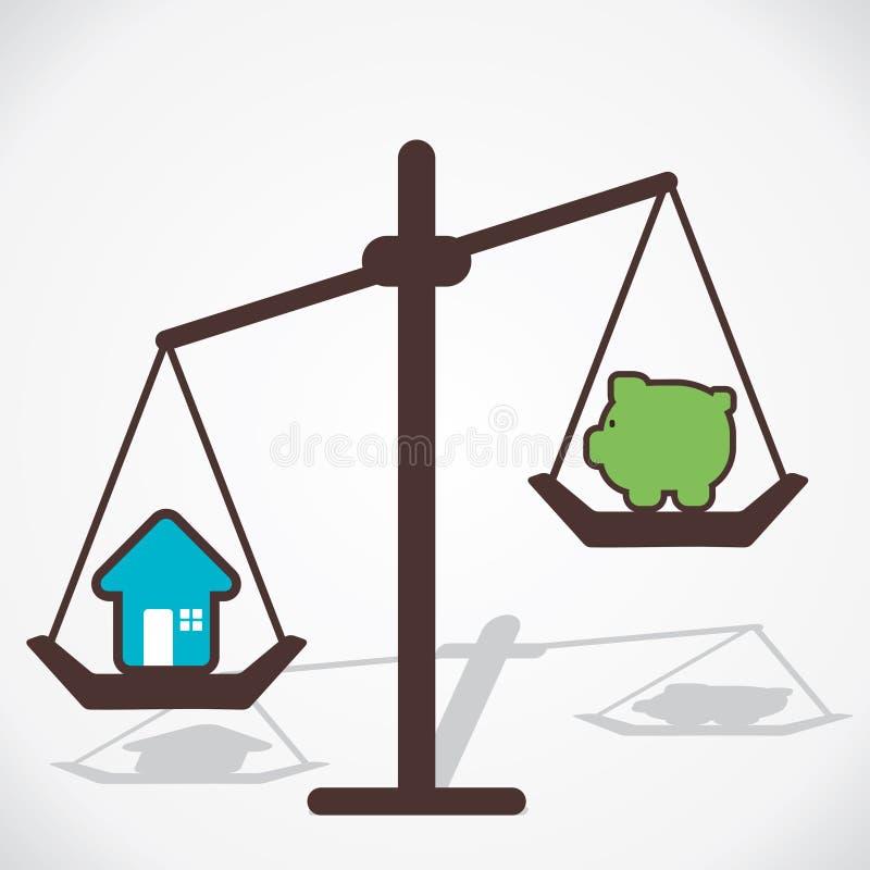 Κόστος του σπιτιού  ελεύθερη απεικόνιση δικαιώματος